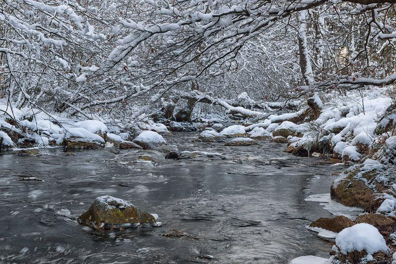Getzbach met sneeuw van Francois Debets