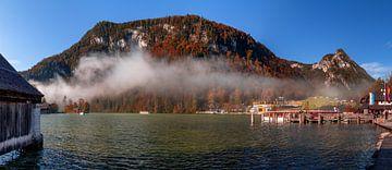 Königssee in de herfst van Dirk Rüter