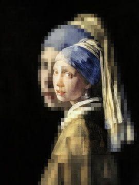 Het meisje met de parel van Marijke de Leeuw - Gabriëlse