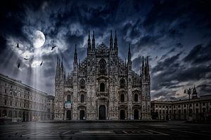 SURREAL ART Milan Cathedral