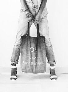 Jeans style black&blanc sur Katja • W