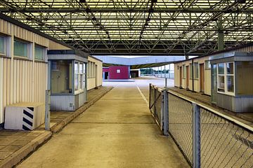 Voormalige DDR grensovergang Mariënborn van Evert Jan Luchies