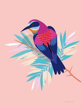 Exotische vogels II, Omar Escalante van Wild Apple