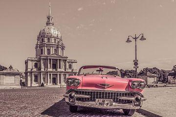 klassischer alter Cadillac im alten Look von Paris von Patrick Löbler