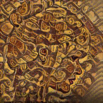 Abstract Inspiratie LXX van Maurice Dawson