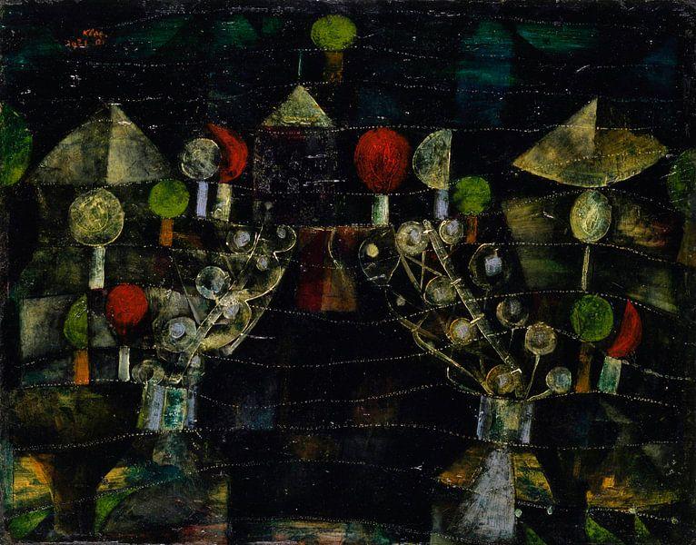 Frauenpavillon, Paul Klee von Meesterlijcke Meesters