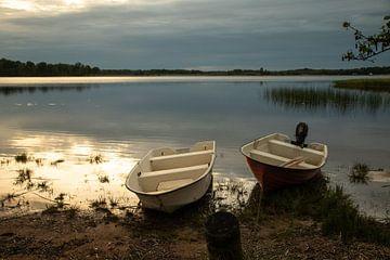 waterlandschap in Zweden van Evelien van der Horst
