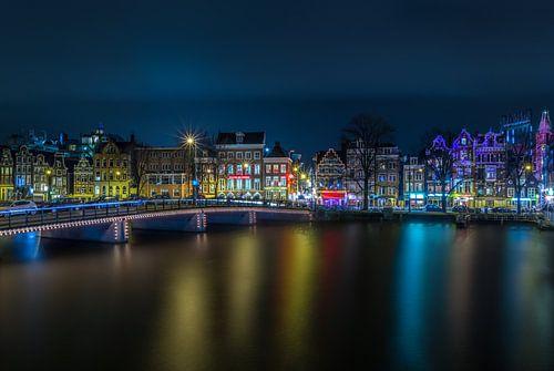 Kloveniersburgwal Amsterdam von Gerrit de Groot
