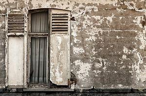 Half open raamluik