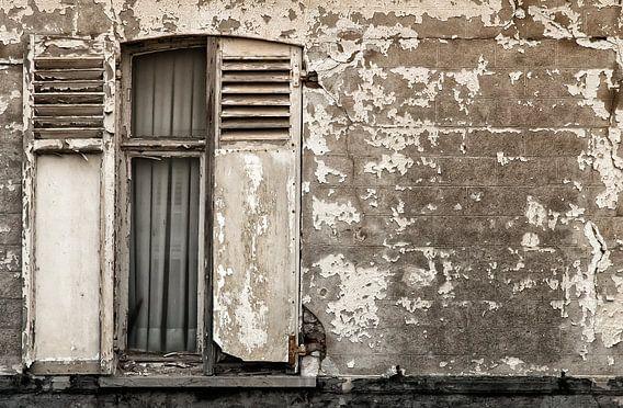 Half open raamluik van Ellen Driesse