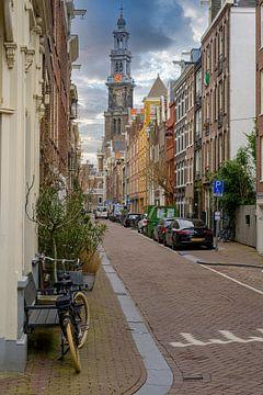 Bloemstraat Amsterdam van Foto Amsterdam / Peter Bartelings