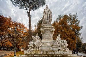 Goethe Monument in Rome van
