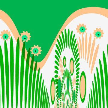 Digital Floral von Rosi Lorz