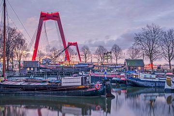 Willemsbrug en Oude Haven, Rotterdam
