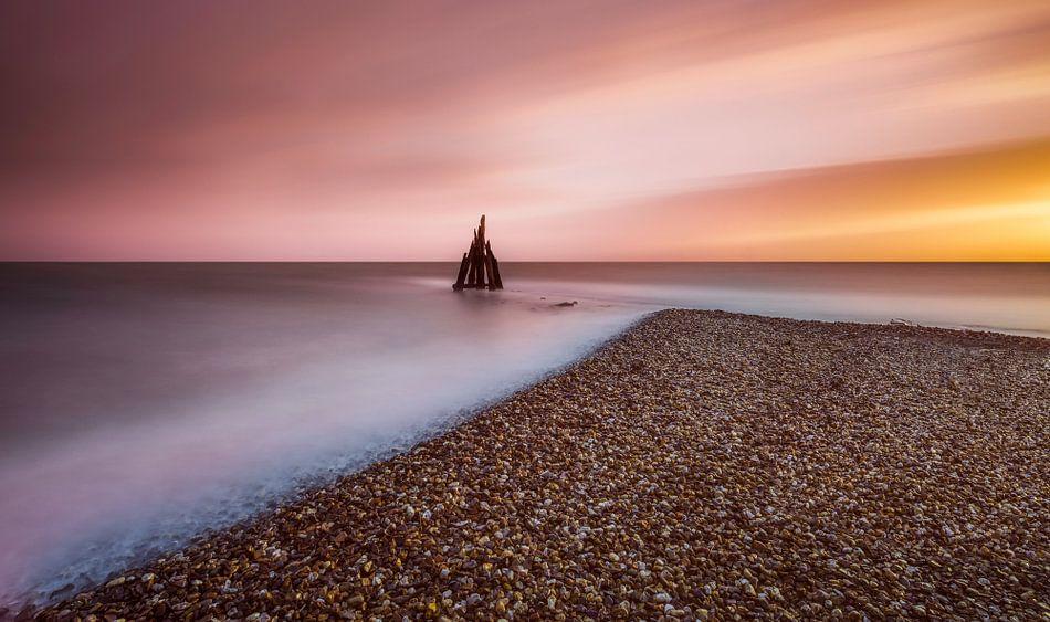 Sound of Light - Sunset van Marco van Dijk