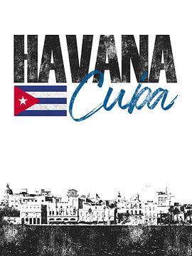 Havana Cuba van Printed Artings