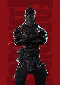 Zwarte Ridder van Nikita Abakumov