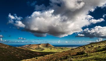 Lanzarote landschap van Harrie Muis