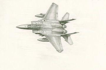 F-15 Adler von Frank Vos