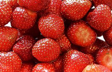 Erdbeeren van Edgar Schermaul