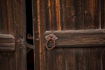 Zweedse houten deur van