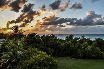 Sonnenuntergang Varadero, Kuba von Michelle van den Boom