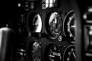 Meetinstrumenten vliegtuig van