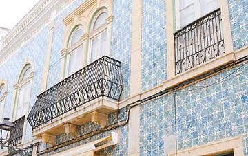 Portugiesische Fliesen in Lagos Portugal von Stefanie de Boer