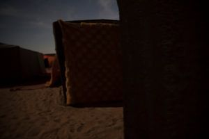 Sahara Desert Camp van