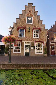 Fassadenhaus in Maassluis von Charlene van Koesveld