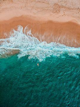 Atlantische Oceaan Portugal van Dayenne van Peperstraten