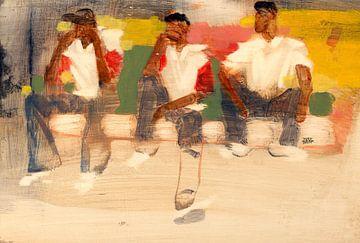 Jongens Curacao van Pieter Hogenbirk
