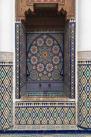 Marokkanisches Mosaik