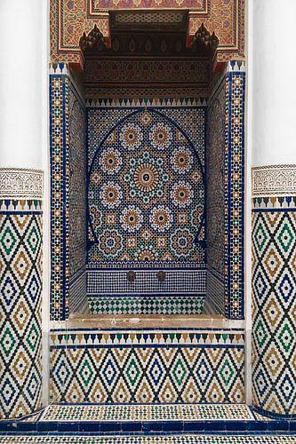 Marokkaans Mozaïek van Wendy van Aal