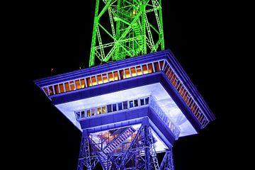 Berlijn Funkturm in een bijzonder licht van Frank Herrmann