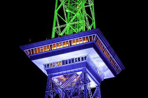 Berliner Funkturm in besonderem Licht von Frank Herrmann