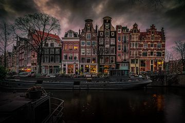 Prinsengracht Amsterdam van Mario Calma
