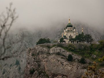 Kerk in Foros van Vladyslav Durniev