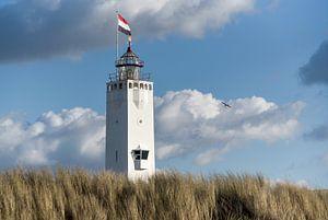 Vuurtoren van Noordwijk van Jeanette van Starkenburg