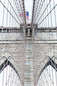 Brooklyn Bridge New York Way up High