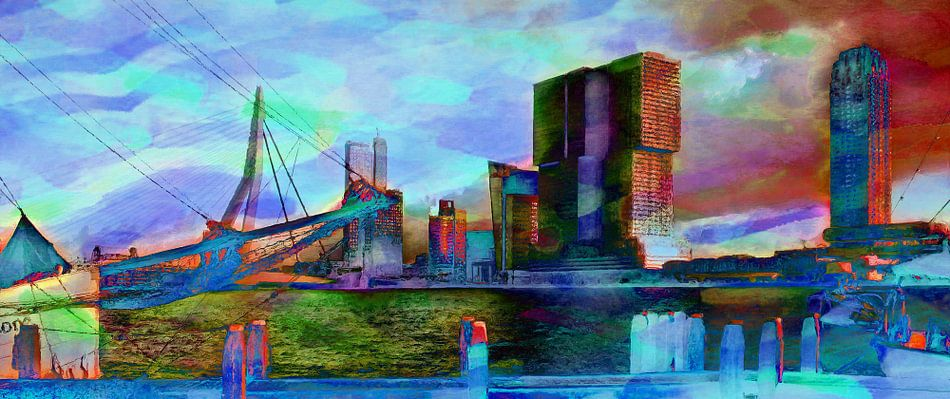 De Rotterdam Vibrant van Frans Jonker