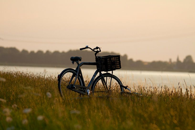 Verlaten fiets van Thijs Schouten