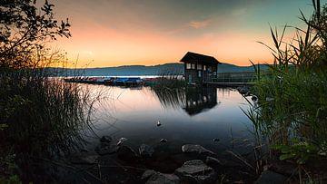 Morgen am Laacher See von Markus Kaiser