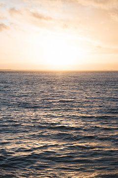 Pastel zonsondergang van Eleana Tollenaar
