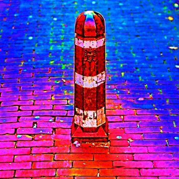 Colorful Middelburg #105 van Theo van der Genugten