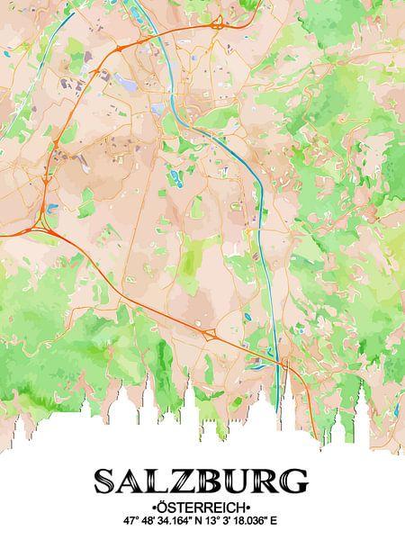 Salzburg van Printed Artings