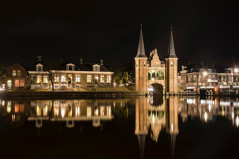 Waterpoort in Sneek van Jorian De Haan