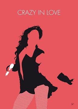No122 MY Beyonce Minimal Music poster van Chungkong Art