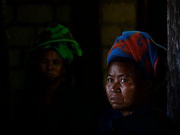 Het Birmese bruidsmeisje van Inle Lake van Rik Pijnenburg