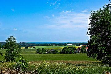 Blick über das Osnabrücker Land von Norbert Sülzner